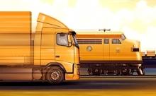 Автомобильный или железнодорожный транспорт для грузоперевозок – какой выбрать?